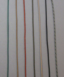 Fly fishing lanyard cord colors.